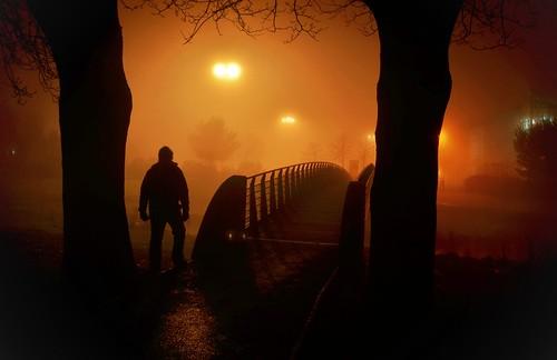 Close encounters of the foggy kind