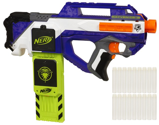 N-Strike Elite Rayven CS-18 blaster