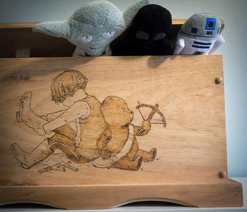 Star Wars Toy Box from Andrea & Sonny