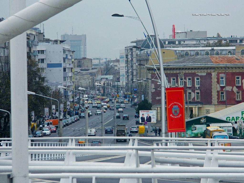 Basarab Overpass, Bucharest