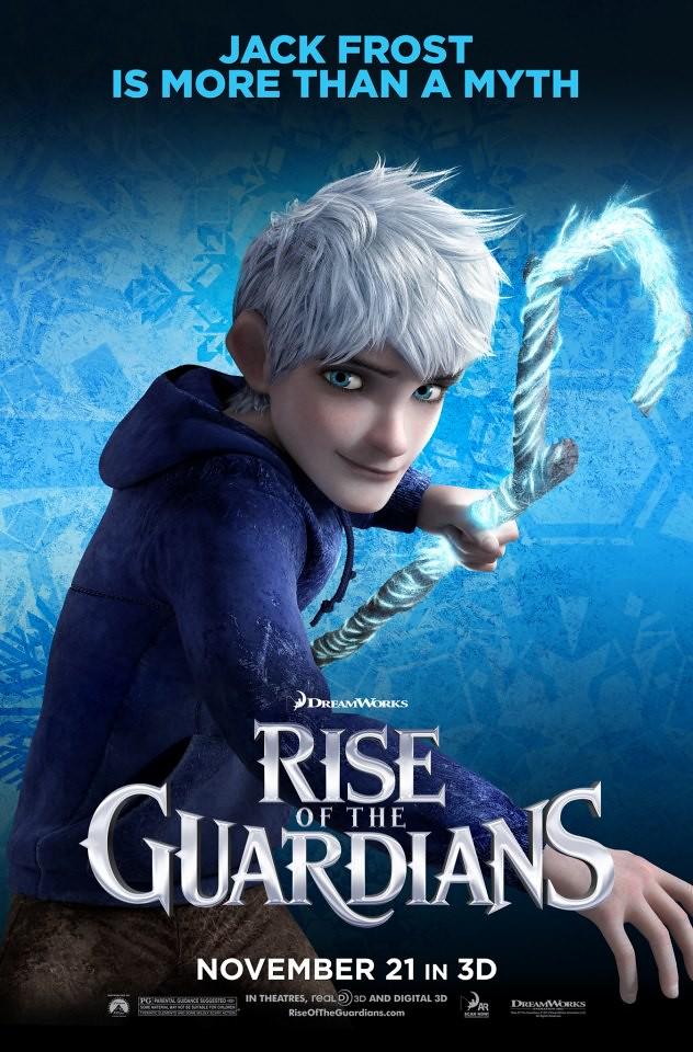 JACK FROST (VOICED BY CHRIS PINE)