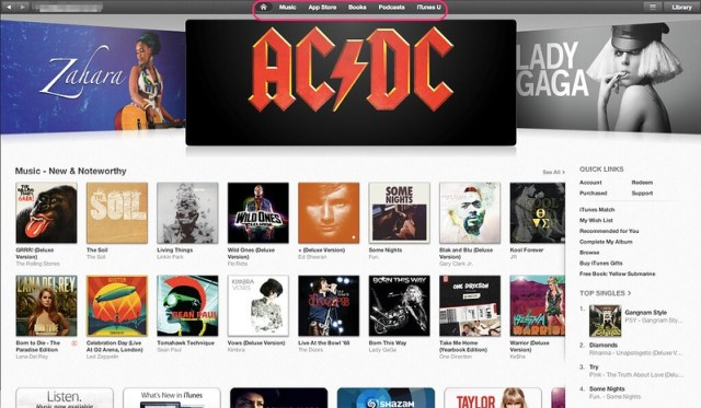 iTunes Store SA - Home page