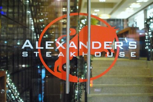 alexanders signage
