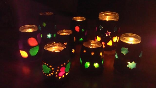 fimo lanterns