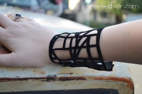 Faux Laser Cut Bracelet