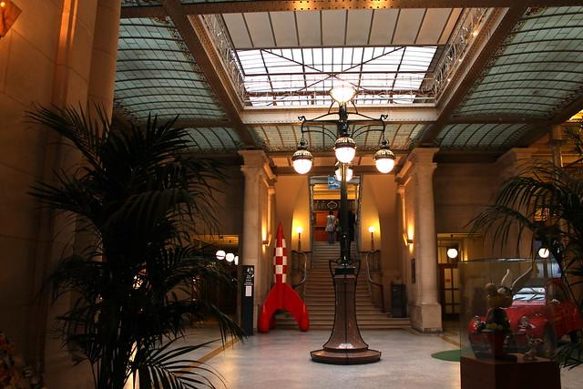Hall d'Entrée du Centre Belge de la Bande Dessinée