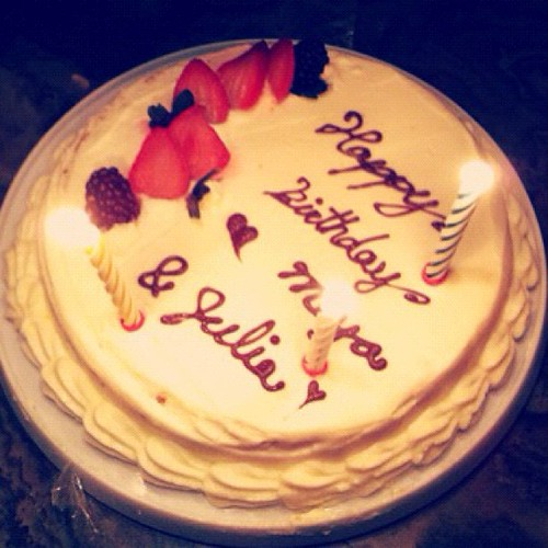 Happy Birthday to @meyaintoronto and Julia~