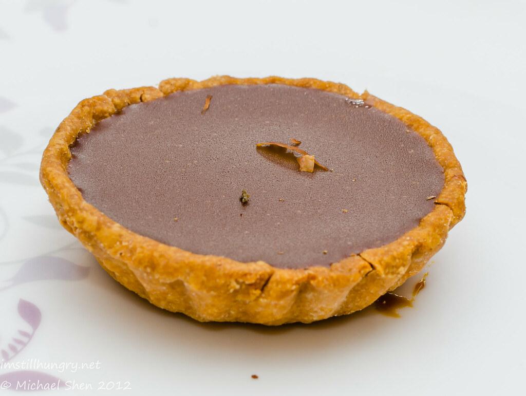 Bourke St Bakery - dark chocolate tart