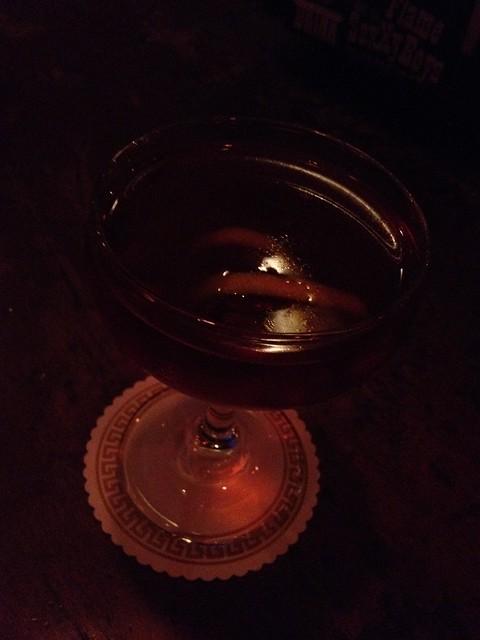 One-Legged Duck cocktail - Hattie's Hat