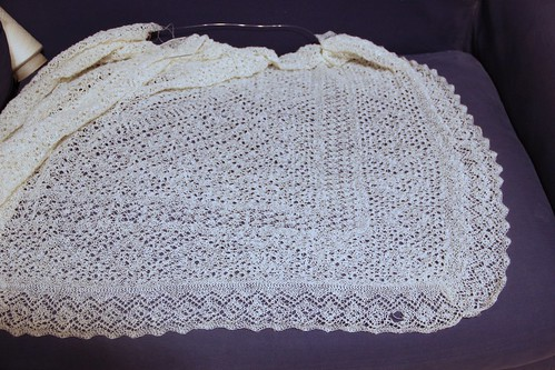 Hole in Orenburg Shawl