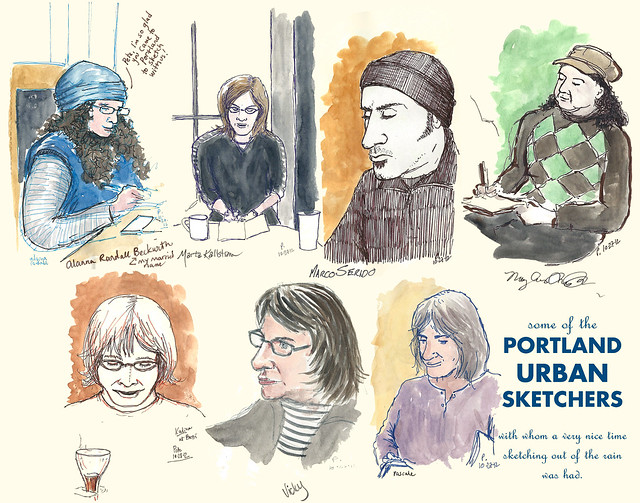 PDX Urban Sketchers