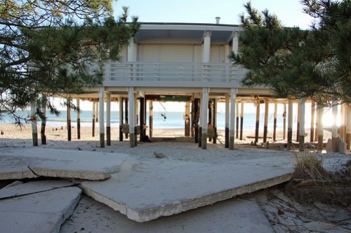 Hurricane Sandy Aftermath: Bay Head, South Pt. Beach