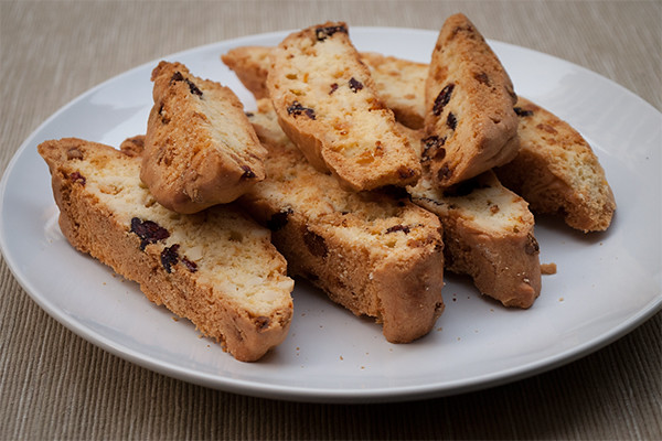 Anyone for a plate of freshly baked biscotti?