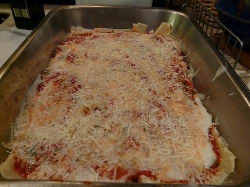 Cheese Layer - Roasted Red Pepper Lasagna