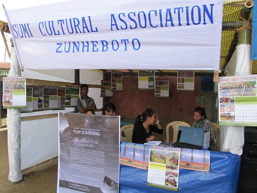 Sumi Cultural Association stall, Ahuna Festival 2012, Zunheboto