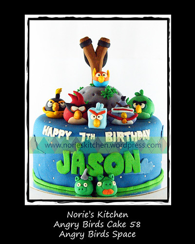 Norie's Kitchen - Angry Birds Cake 58 by Norie's Kitchen