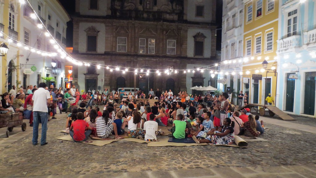 Outdoor Theatre Preformance - Salvador, Brazil