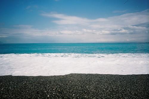 那海,那藍