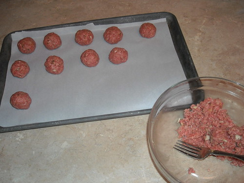 meatballs mixed