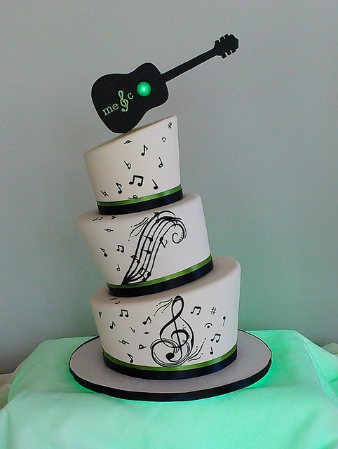 G 226 Teau Mariage Musique Flickr Photo Sharing