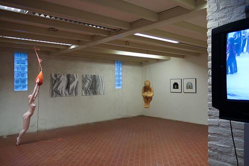 Tentoonstelling fifty/fifty, Oosterwolde by Birgit Speulman