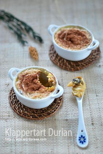 Klapertart Durian
