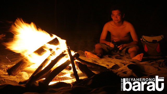 Bonfire in San Antonio Zambales
