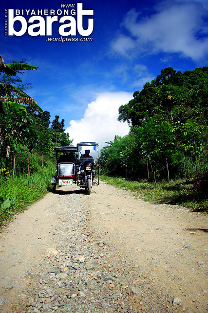 road to Calinawan Cave Tany Rizal