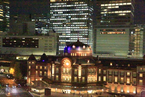 New Old Tokyo Station Night View (test ISO65535)