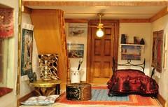 Dormitorio Pintor (escala 1:12)