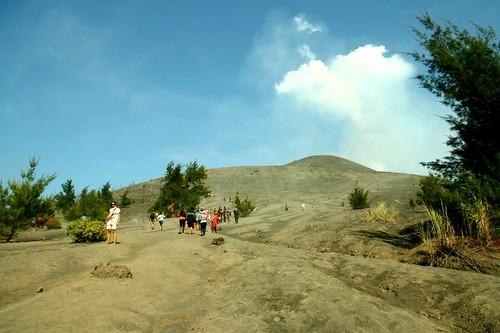 Climbing Krakatau