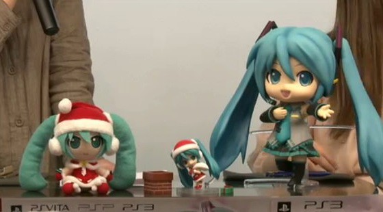 How Jumbo Miku compares with the other prizes