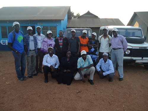 Smallholder Pig Value Chains Development (SPVCD) in Uganda team