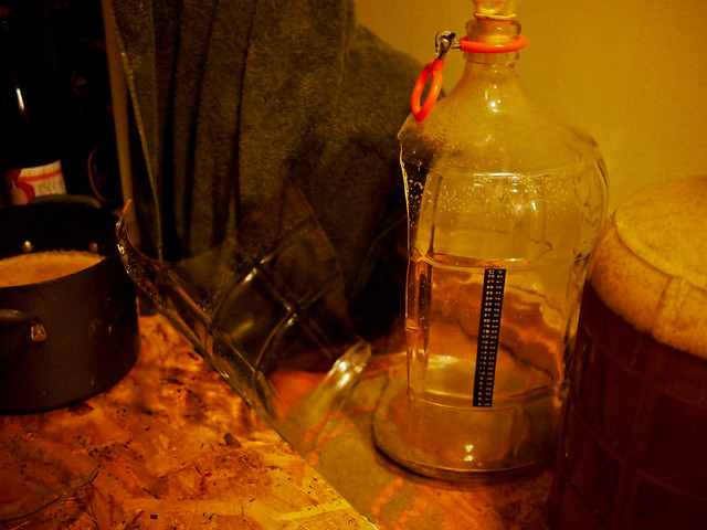Cracked Carboy