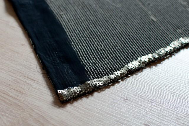 DIY Sequin Maxi Skirt 14