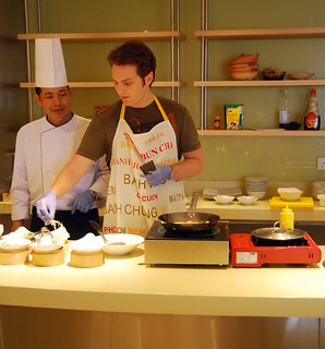 Cooking Class - Chef at work