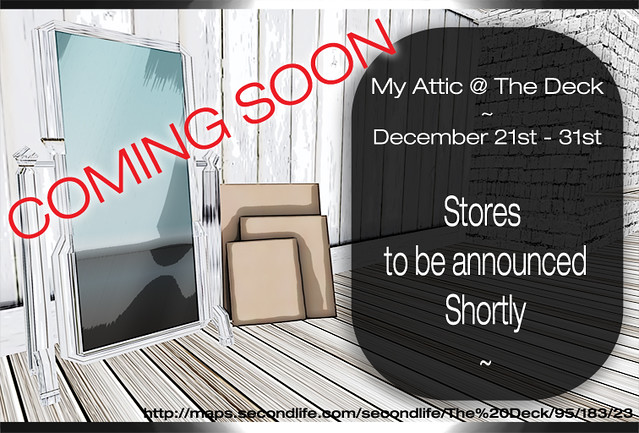 My Attic December COMING SOON