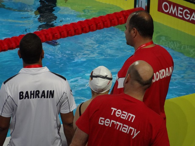 Team Bahrain, Jordan and Germany on deck at Istanbul 2012
