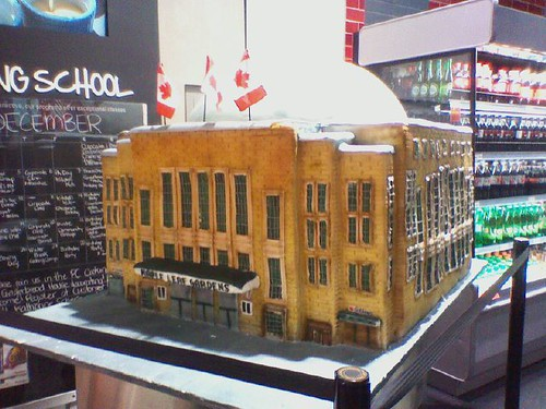 Maple Leaf Gardens in Cake, Loblaws 60 Carlton, December 2012