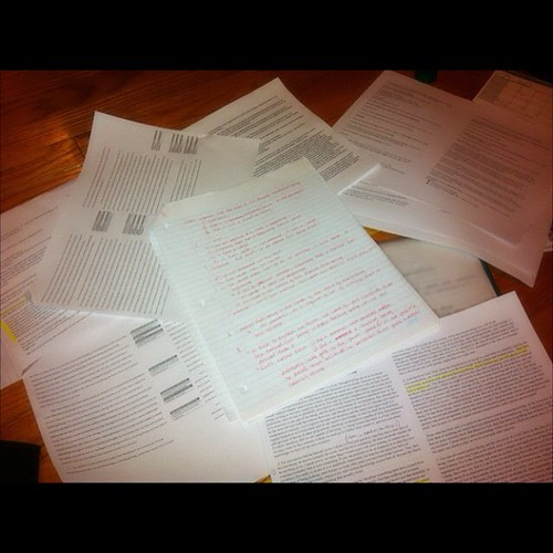 Ive got notes like this on both sides... @___@ #studentlife #exams #cramming