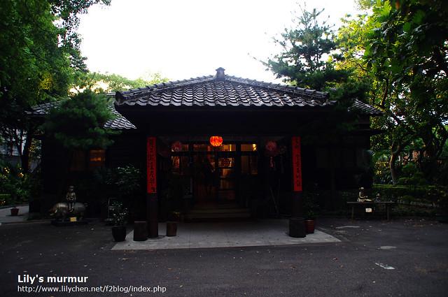 進入市長官邸的庭院之後,迎面而來的就是官邸的正門口,日式建築風味濃厚。