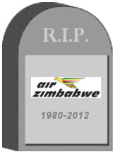 Air Zimbabwe Tombstone