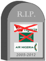 Air Nigeria Tombstone