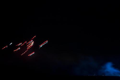 Fireworks in Lauenbrück