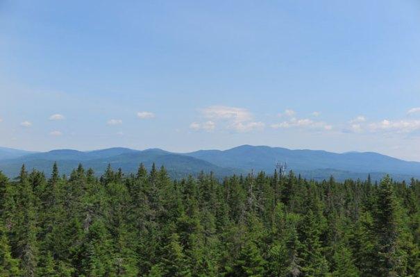 Bald Mountain Maine View Mountains