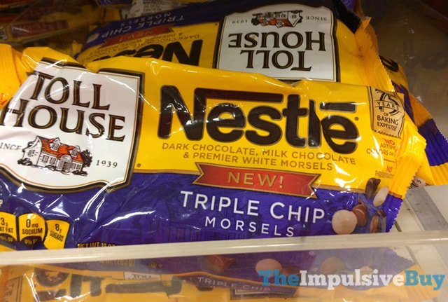 Nestle Toll House Triple Chip Morsels