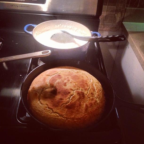 #cornbread #grits