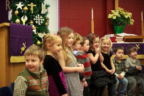 Preschool Christmas Program 2012