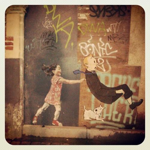 #tenten #tintin #kuifje #brussels #streetart