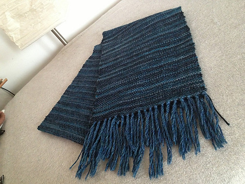 Hubby's scarf